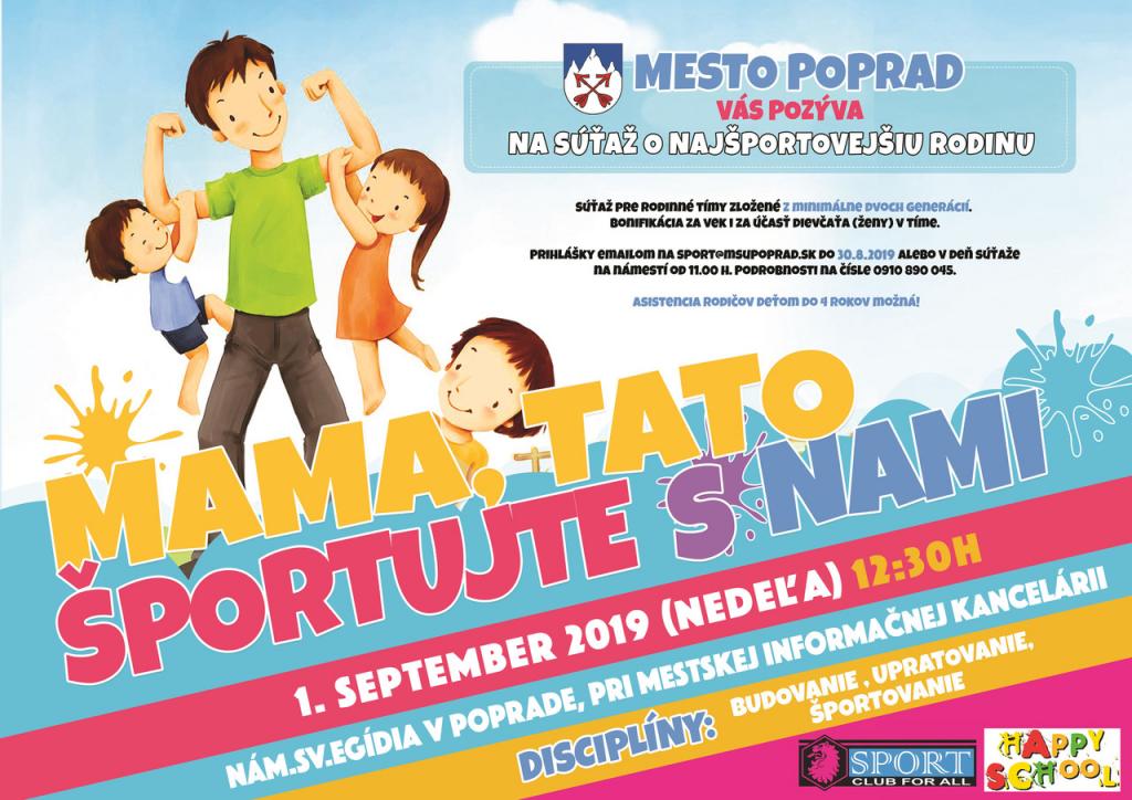 Najšportovejšia rodina mesta Poprad