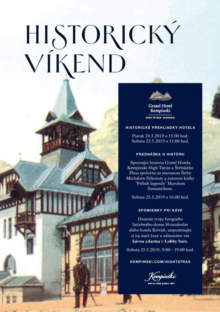 Historický víkend v Kempinski