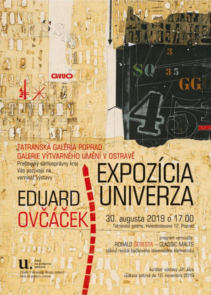 Eduard Ovčáček Expozícia univerza