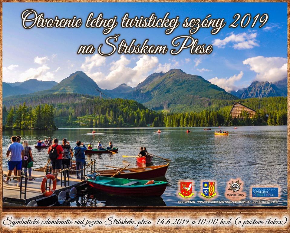 Odomknutie vôd jazera Štrbské Pleso 2019