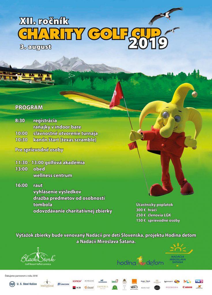 Charity Golf Cup </br>12. ročník
