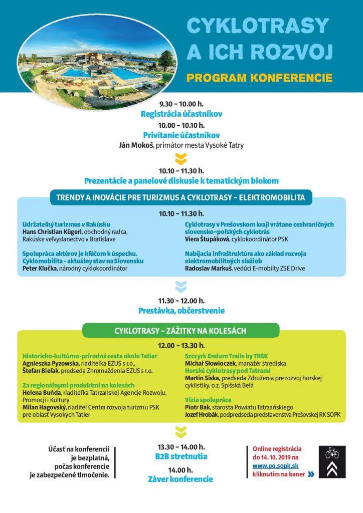Konferencia Cyklotrasy a ich rozvoj