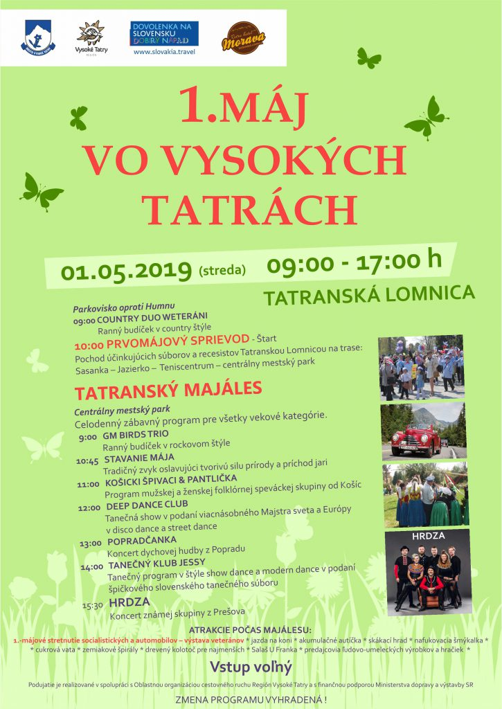 1. Máj vo Vysokých Tatrách