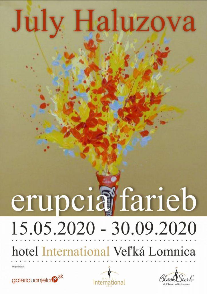 July Haluzová – Erupcia farieb