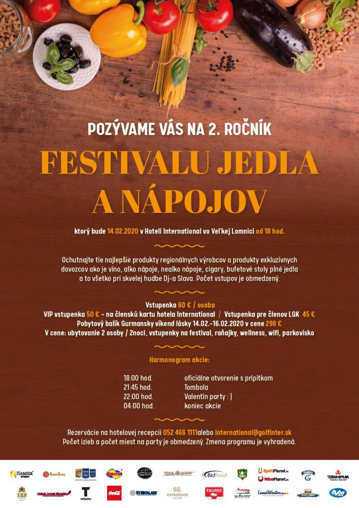 Festival jedla a nápojov
