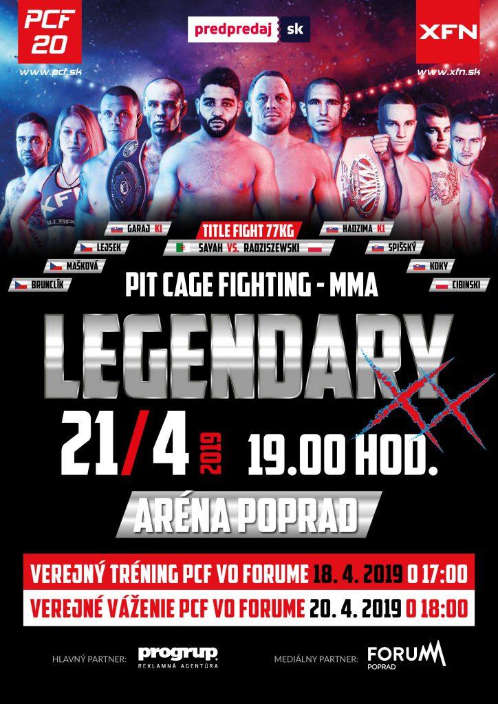 MMA – PCF 20 LEGENDARY