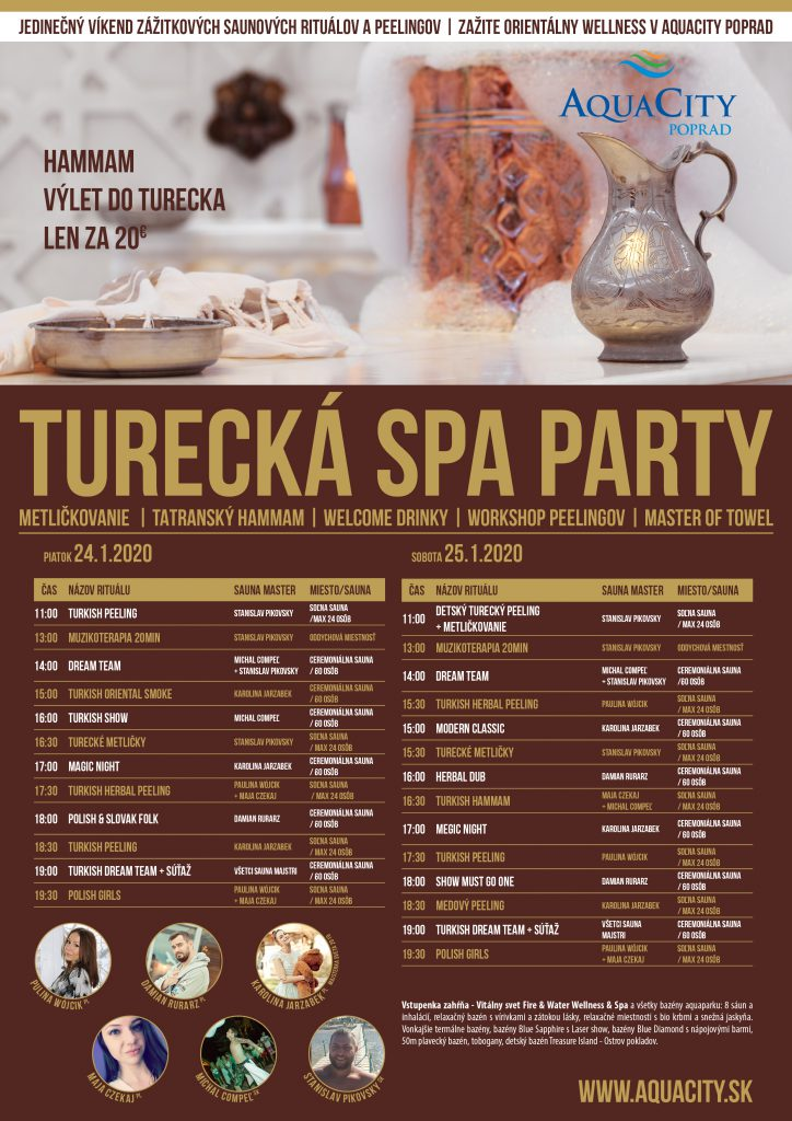 Turecká SPA PARTY