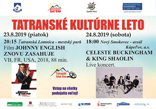 Tatranské kultúrne leto – august 2019