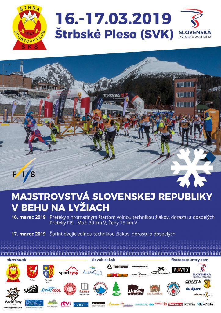 Majstrovstvá Slovenskej republiky a FIS cup v behu na lyžiach