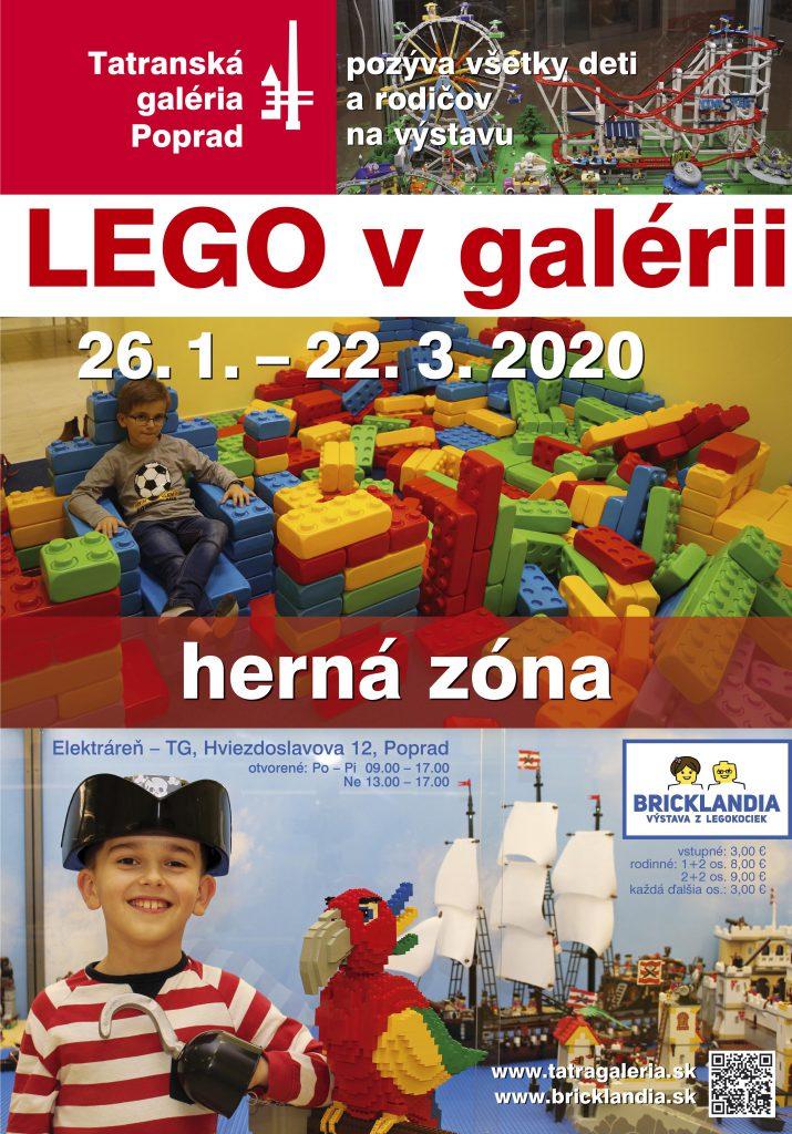 LEGO v galérii