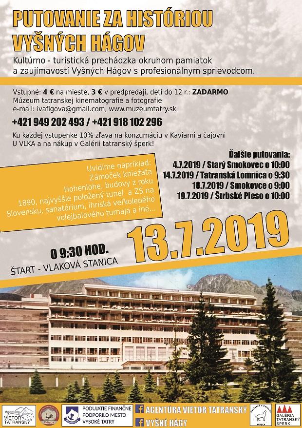 Putovanie za históriou Vyšných Hágov a Tatranskej Lomnice