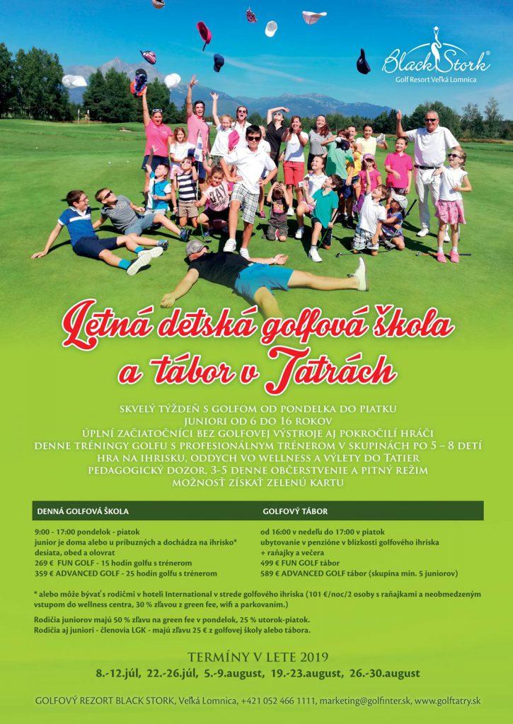 Detská golfová škola a tábor