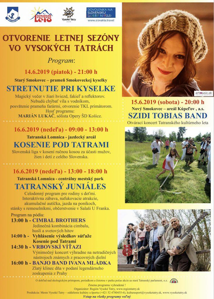 Otvorenie letnej sezóny vo Vysokých Tatrách