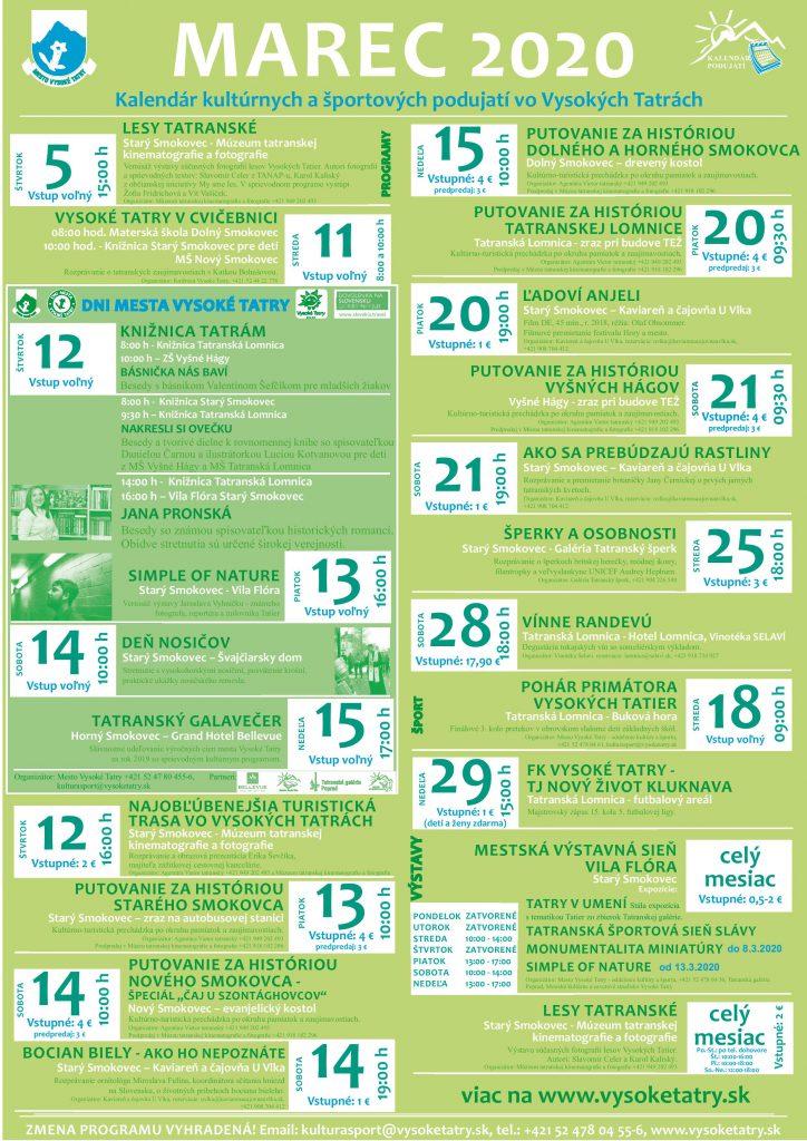 Program Mesta Vysoké Tatry