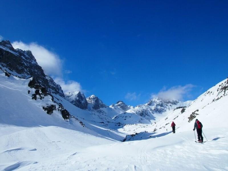 Obrázok: Skialpinistické a crosscountry preteky pod najvyšším štítom