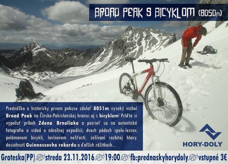 Obrázok: S bicyklom na 8-tisícovku