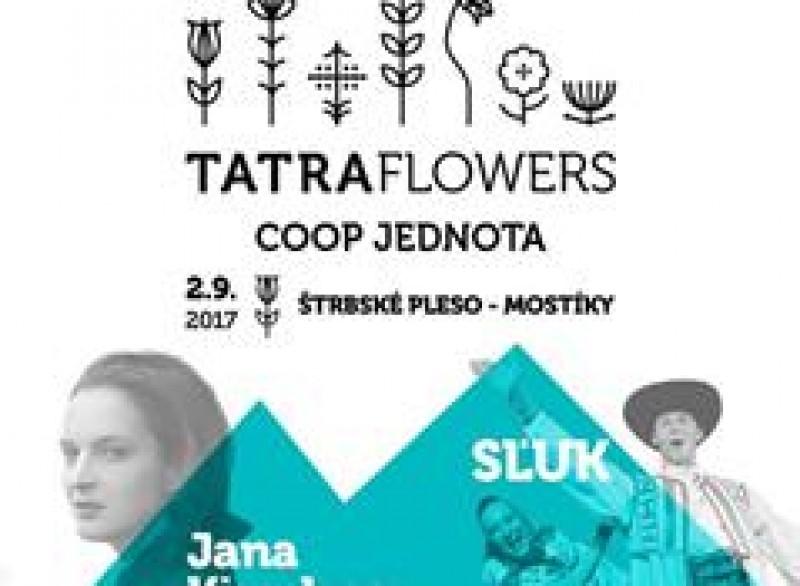 Obrázok: SĽUK a Jana Kirschner na festivale TATRA FLOWERS