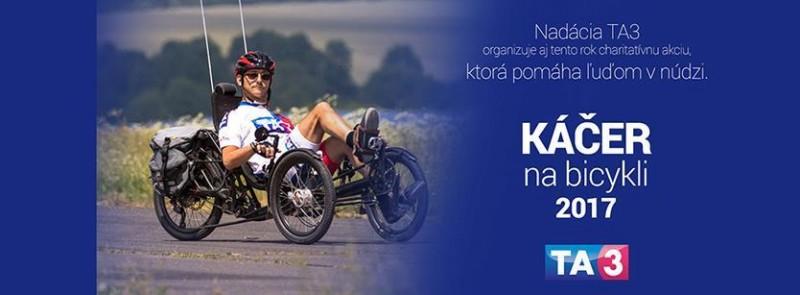 Obrázok: Káčer na bicykli