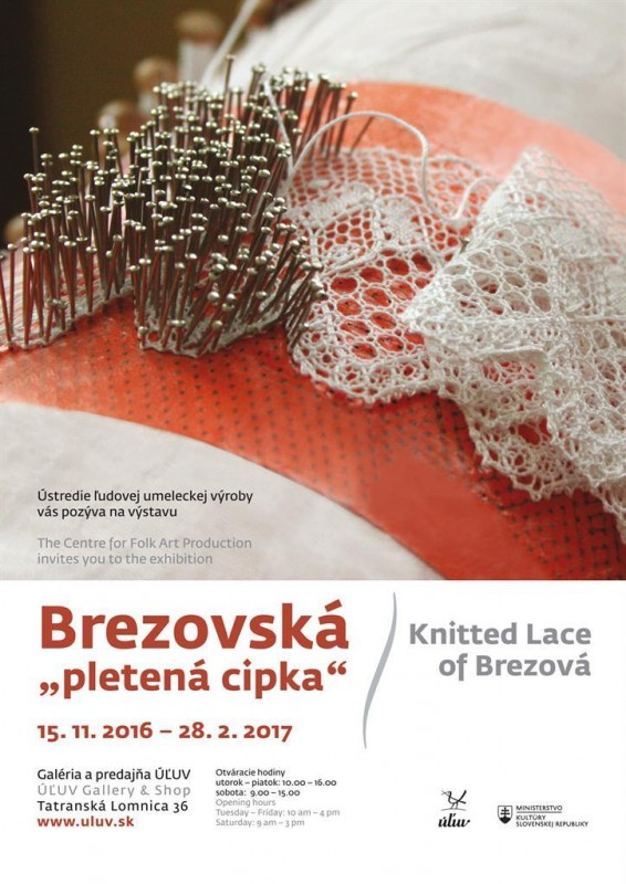 Obrázok: Brezovská pletená čipka