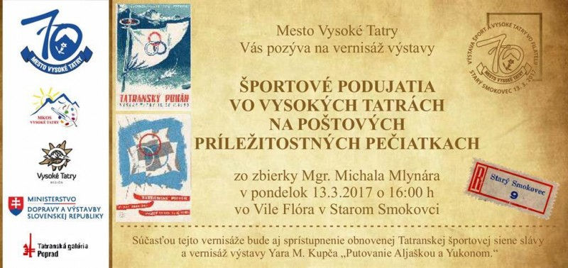 Obrázok: Šport a Vysoké Tatry vo filatelii