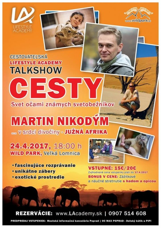 Obrázok: CESTY - Talkshow s Martinom Nikodýmom