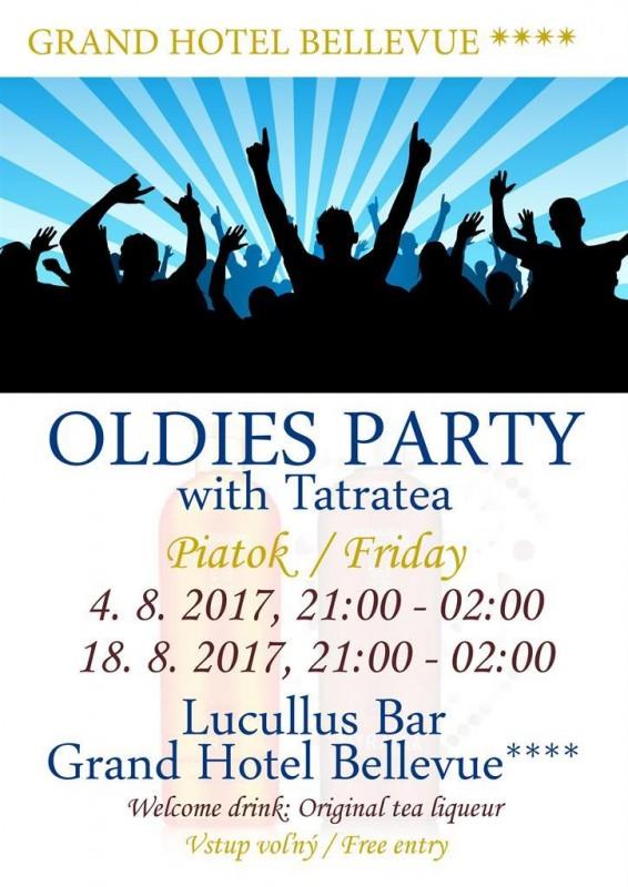Obrázok: Oldies party v hoteli Bellevue - 18.8.2017