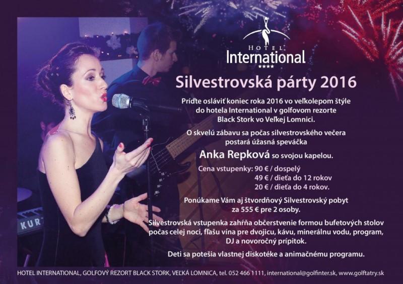 Obrázok: Silvestrovská párty 2016 v hoteli International
