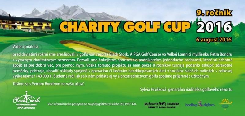 Obrázok: Charity Golf Cup 2016