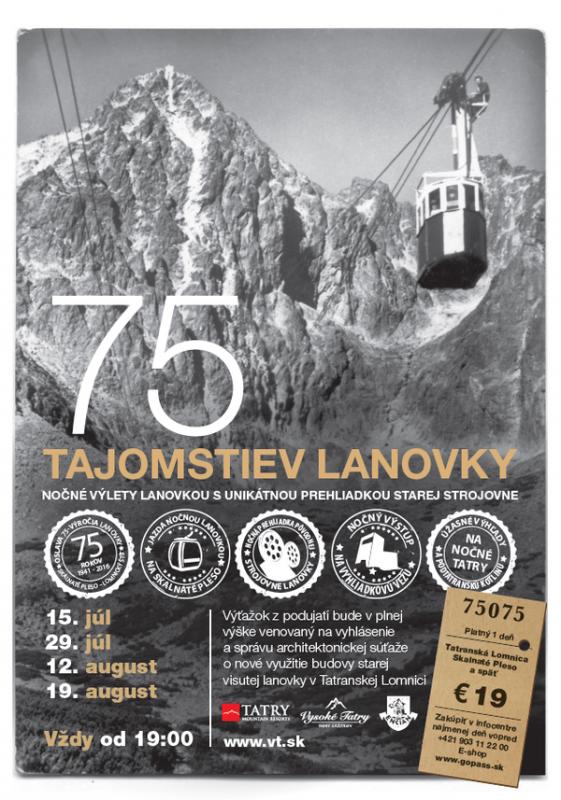 Obrázok: 75 Tajomstiev lanovky - leto / 15.07.