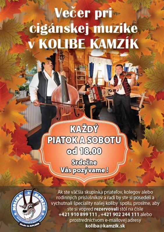 Obrázok: Večer s cigánskou hudbou - 11. - 12.11.
