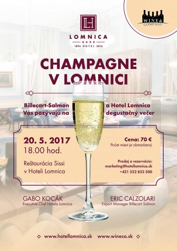 Obrázok: Champagne v Lomnici