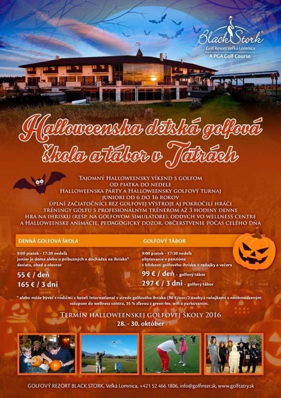 Obrázok: Halloweenska detská golfová škola a tábor v Tatrách