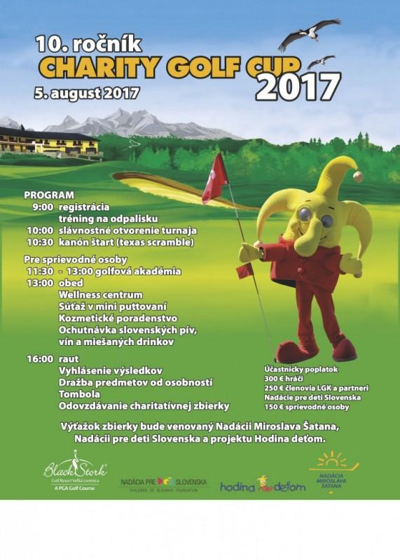 Obrázok: Charity Golf Cup 2017