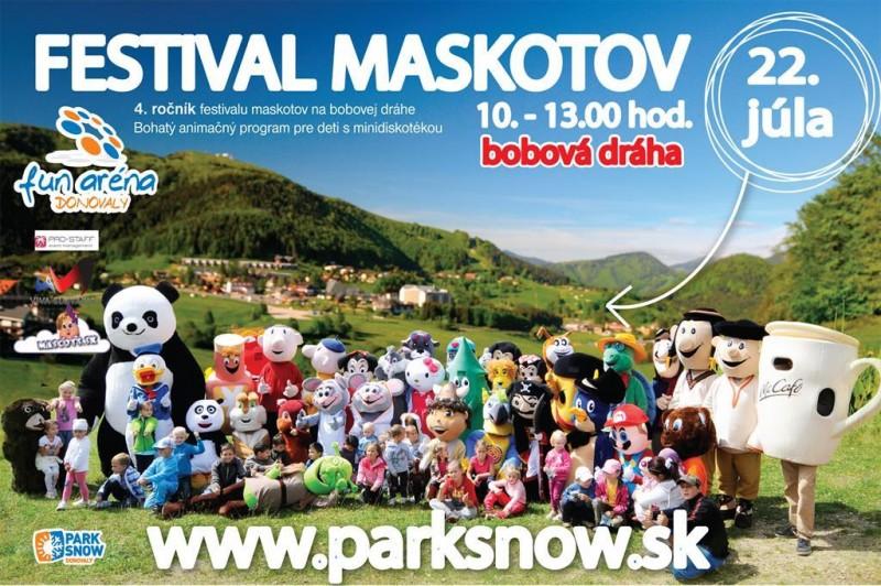 Obrázok: Festival maskotov