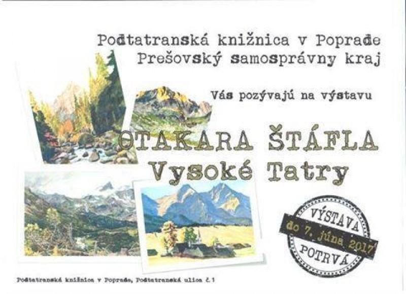 Obrázok: Otakar Štáfl - Vysoké Tatry