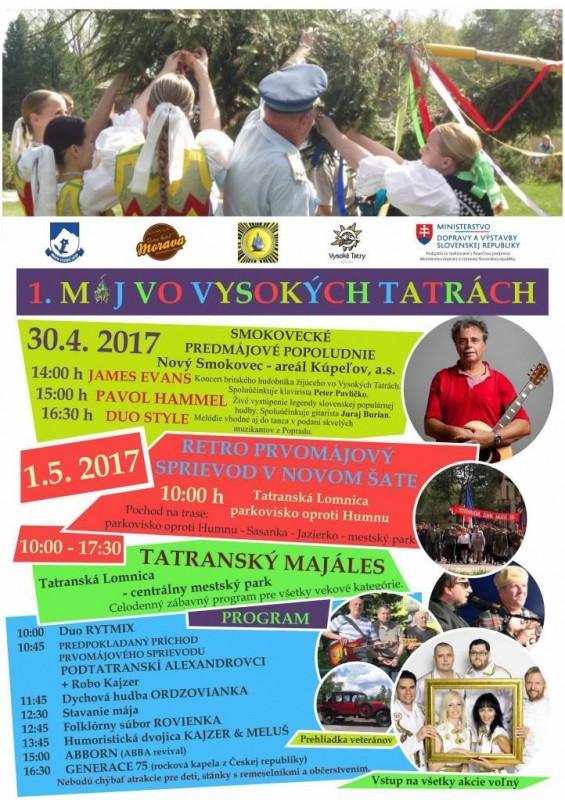 Obrázok: 1. máj vo Vysokých Tatrách