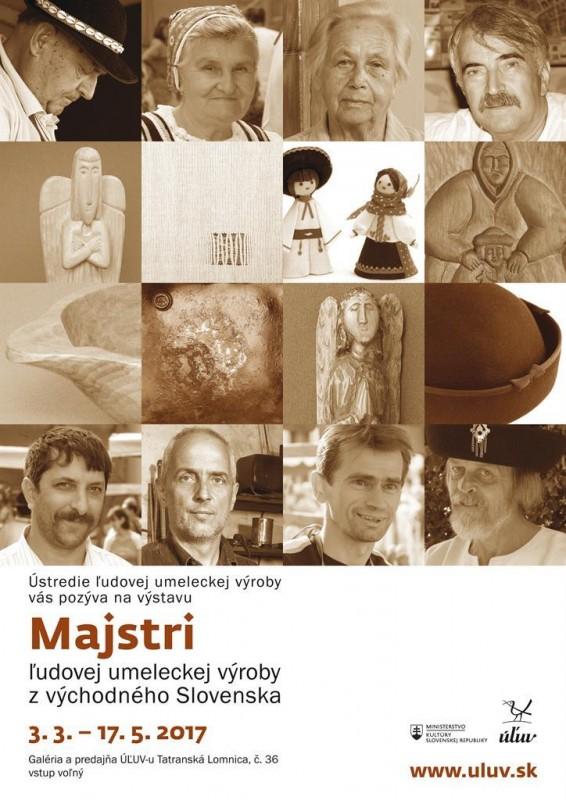 Obrázok: Majstri ľudovo umeleckej tvorby z východného Slovenska