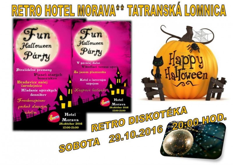 Obrázok: Hotel MORAVA Halloween