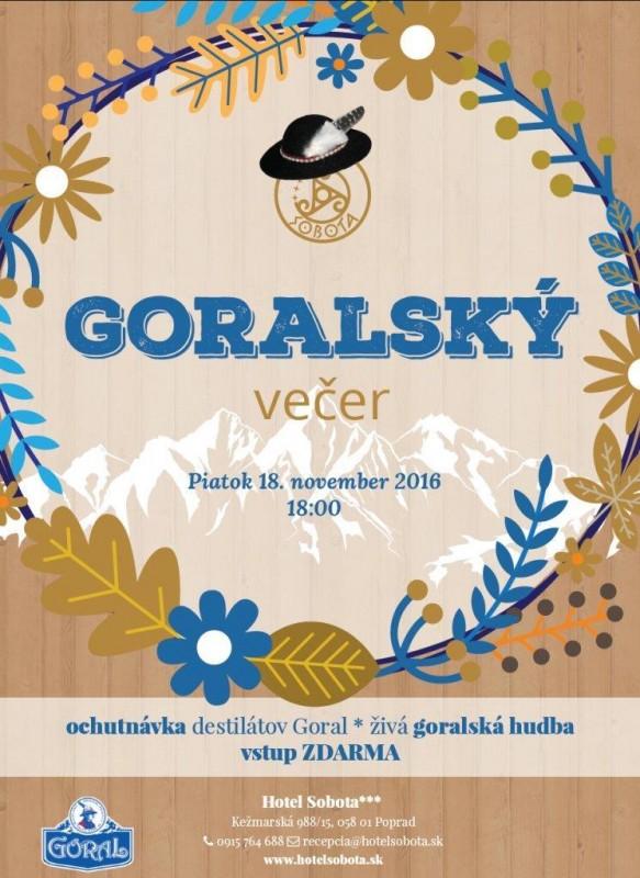 Obrázok: Goralský večer