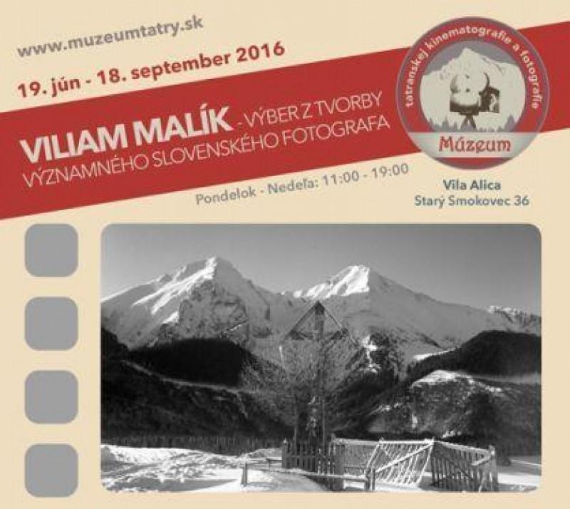 Obrázok: Viliam Malík - výstava fotografií