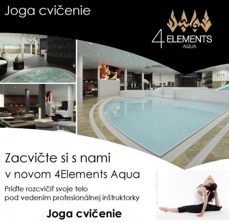 Obrázok: Joga cvičenie v hoteli Atrium - 27.09.