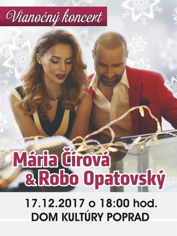 Obrázok: Mária Čírová a Robo Opatovský - vianočný koncert