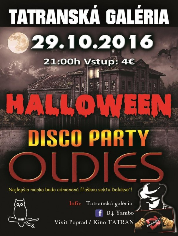 Obrázok: HALLOWEEN DISCO OLDIES PARTY