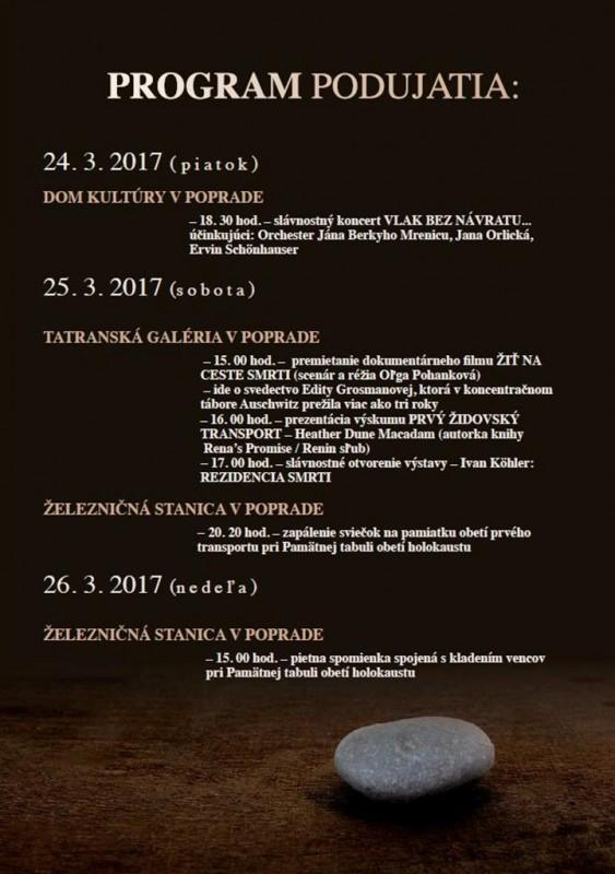 Obrázok: 75. výročie odchodu prvého transportu zo Slovenska