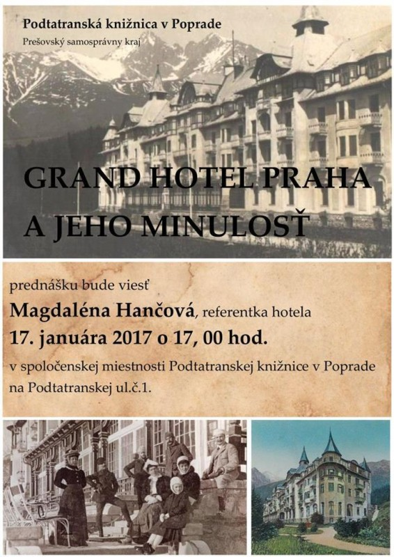 Obrázok: Grandhotel Praha a jeho minulosť