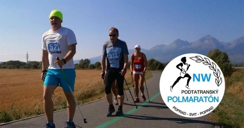 Obrázok: Podtatranský polmaratón 2017 - Nordic walking