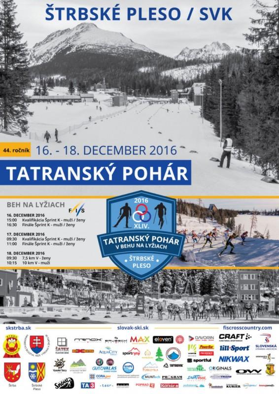Obrázok: Tatranský pohár v behu na lyžiach