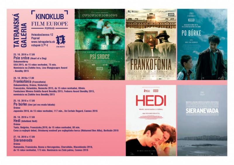 Obrázok: Kinoklub v Tatranskej galérii