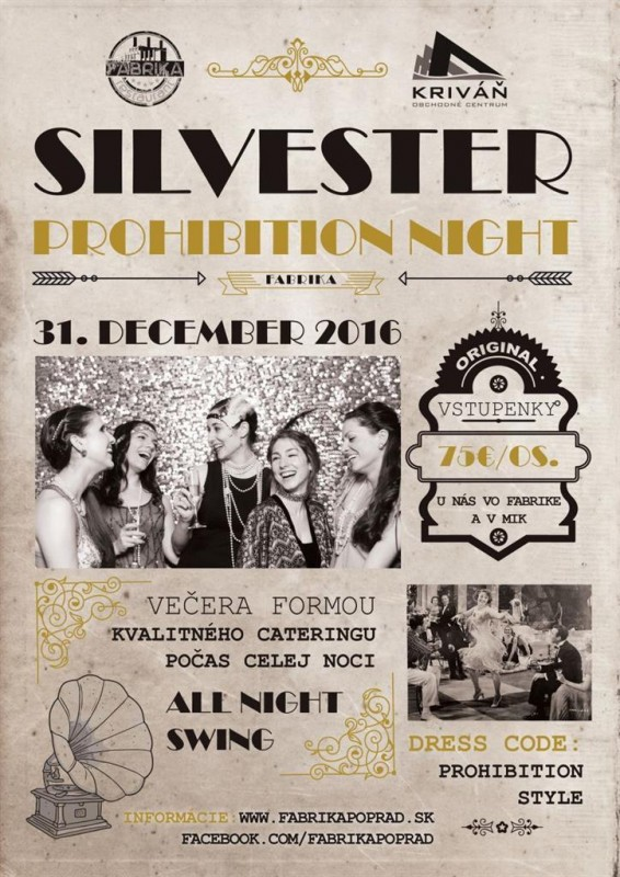 Obrázok: Silvester Prohibiton Night