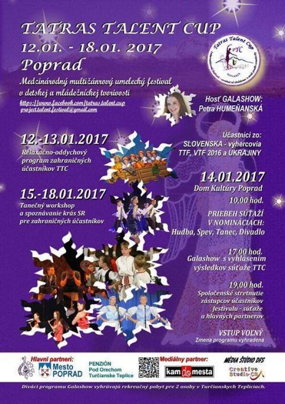 Obrázok: Tatras talent cup